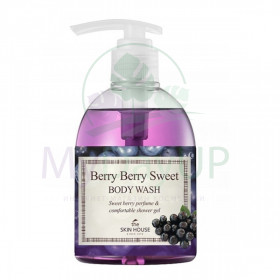 The Skin House Berry Berry Sweet Body Wash Гель для душа с экстрактом ягод, 300ml