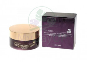 DEOPROCE CREAM SYNAKE INTENSIVE WRINKLE CARE Крем для лица со змеиным ядом DEOPROCE 100гр