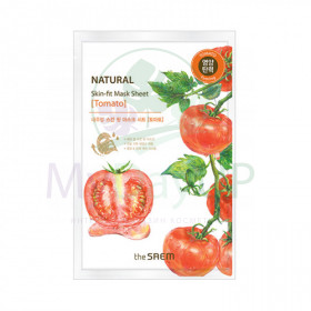 THE SAEM SF томат Natural Skin Fit Mask Sheet [Tomato] Маска тканевая  20ml