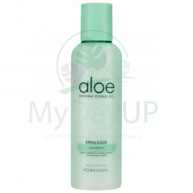 Holika Holika Aloe Soothing Essence 90% Emulsion Увлажняющая эмульсия 200 мл