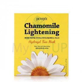 PETITFEE Маска д/лица гидрогел. c РОМАШКОЙ Chamomile Lightening Hydrogel Face Mask 32 гр