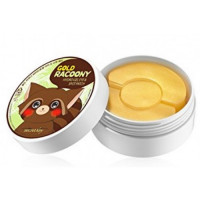 Secret Key Gold Racoony Hydrogel Eye & Spot Patch, гидрогелевые патчи 60 шт