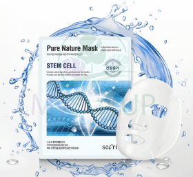 ANSKIN Secriss Маска для лица тканевая Secriss Pure Nature Mask Pack- Stem cell 25 мл